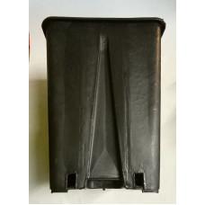 Квадратна пластмасова твърда саксия 15x15x20cm